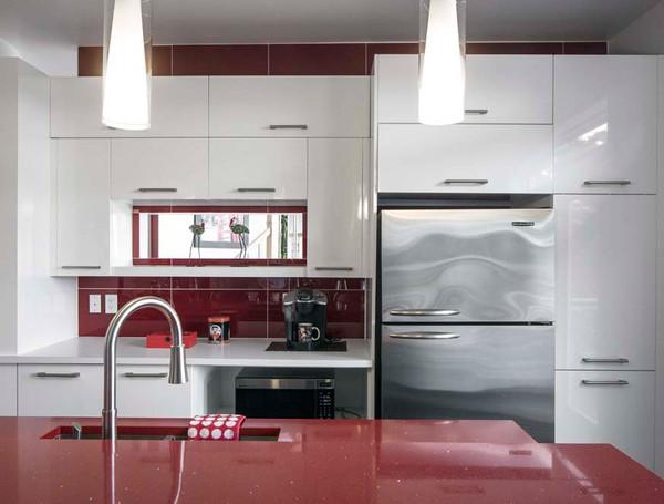 Cuisine comptoir de cuisine contemporain 1000 id es - La cuisine de comptoir ...